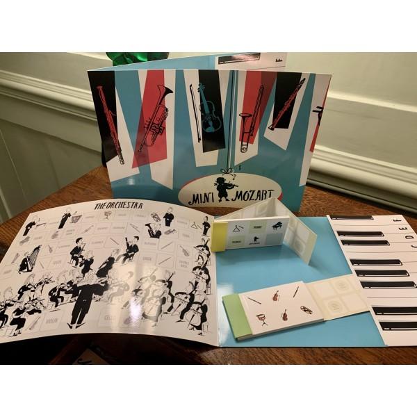 Mini Mozart Folder and Sticker Book